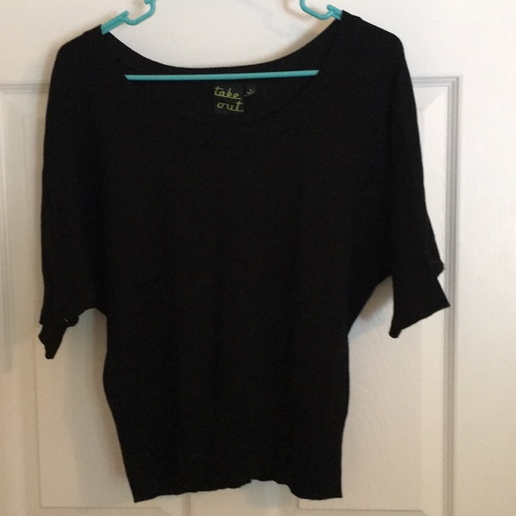 Takeout Sweaters - Short sleeve sweater